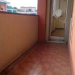 balcone camera e sala